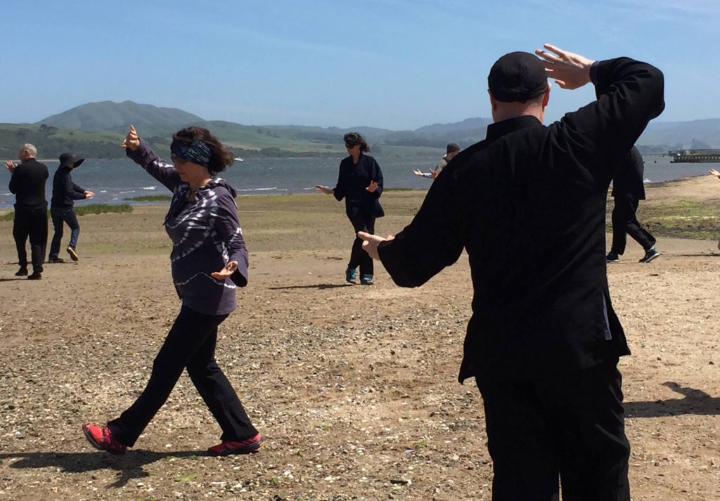 Retreats, Qigong practice