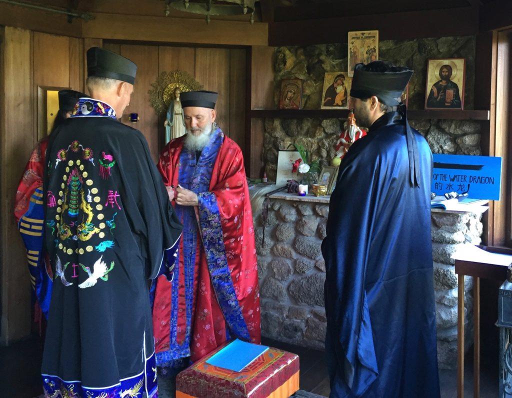 Daoist training Ceremony for Daoist priest