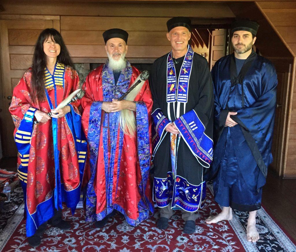 Retreats, Daoist priests