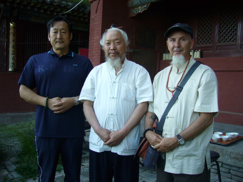 Micael Rinaldini and Qigong and Daoist masters