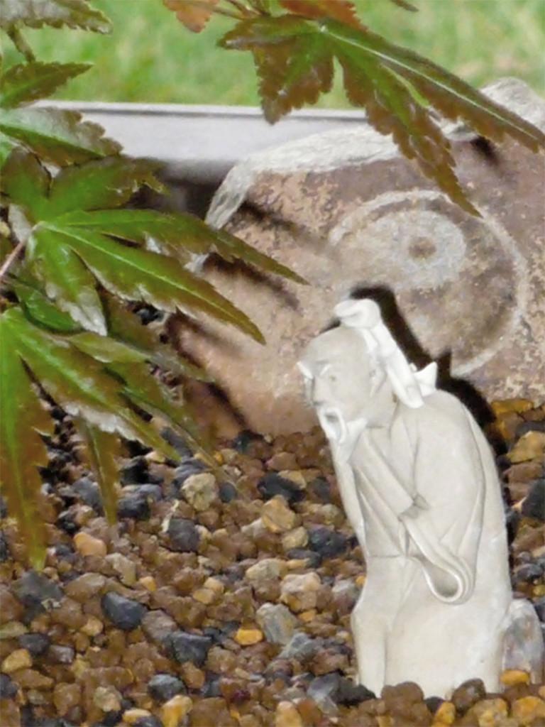 Little Dao Statue - Contact shifu Michael Rinaldini