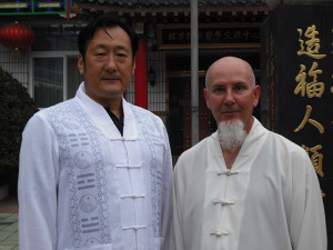 shifu Michael at Master Wan's Center in Beijing