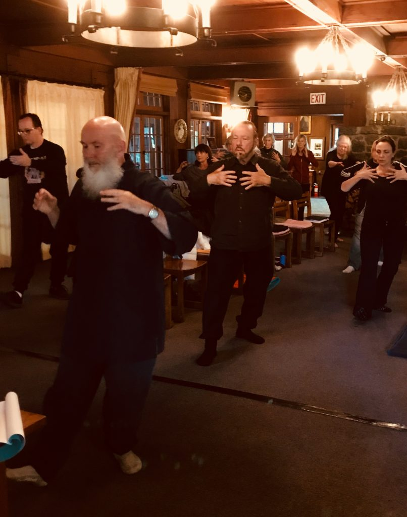 Qigong Practice at 2018 Retreat